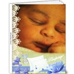 Miguel Angel Sleeping - 9x12 Deluxe Photo Book (20 pages)