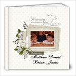 Baptism - 8x8 Photo Book (20 pages)