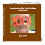 Grandpa Hirschi - 8x8 Photo Book (20 pages)
