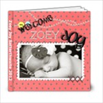 Zoey Newborn - 6x6 Photo Book (20 pages)