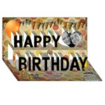 Birthday Card Ayd - Happy Birthday 3D Greeting Card (8x4)