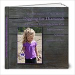 Crater of Diamonds 8x8 book - 8x8 Photo Book (20 pages)