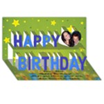 stew card - Happy Birthday 3D Greeting Card (8x4)