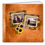 Autumn Delights 8x8 Deluxe PhotoBook (20Pages) - 8x8 Deluxe Photo Book (20 pages)
