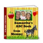 Personalized ABC Book, 6x6 Deluxe 20pg - 6x6 Deluxe Photo Book (20 pages)