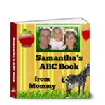 Personalized Alphabet Mini Book 4x4 - 4x4 Deluxe Photo Book (20 pages)