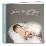 Newborn - 8x8 Deluxe Photo Book (20 pages)