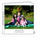10-8-12 Sharon Playground - 8x8 Photo Book (20 pages)
