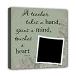 Teacher 8x8  Stretched Canvas - Mini Canvas 8  x 8  (Stretched)