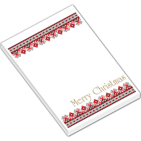 Xmas By Divad Brown   Large Memo Pads   Fam3joely5rk   Www Artscow Com