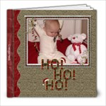 Ho Ho Ho Christmas 8x8 Photo Book - 8x8 Photo Book (20 pages)