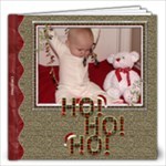 Ho Ho Ho Christmas 12x12 Photo Book - 12x12 Photo Book (20 pages)