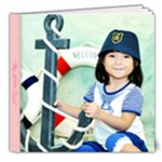 Little Salior II - 8x8 Deluxe Photo Book (20 pages)