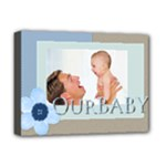 baby - Deluxe Canvas 16  x 12  (Stretched)