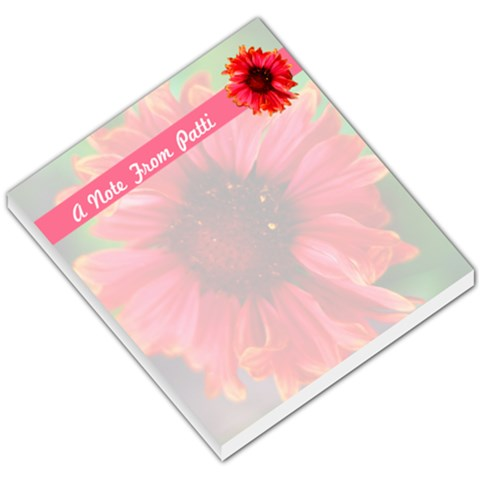 Notepad My Garden By Patricia W   Small Memo Pads   Co9rrmlidvvb   Www Artscow Com