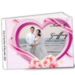 Wedding Photo album - 9x7 Deluxe Photo Book (20 pages)