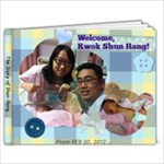Shun Hang (0-6M) - 7x5 Photo Book (20 pages)