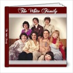 white family 2012 - 8x8 Photo Book (20 pages)