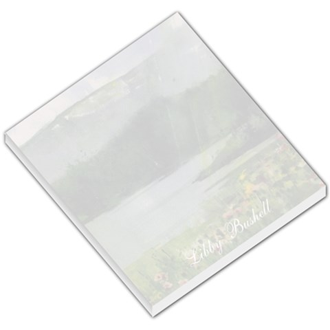 Libby Lake Wildflowers Small Memo 1 By Liz Mcgowan   Small Memo Pads   O7imns1bbc8t   Www Artscow Com