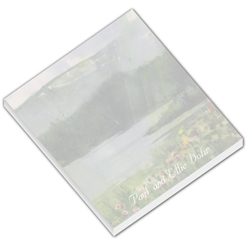 Lake Wildflowers Small Memo 44 By Liz Mcgowan   Small Memo Pads   Z5ntnkl96dri   Www Artscow Com