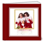 merry chrsitmas - 8x8 Deluxe Photo Book (20 pages)