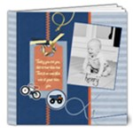 Henry 6 months - 8x8 Deluxe Photo Book (20 pages)