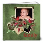 Old Time Christmas 8x8 20 pages - 8x8 Photo Book (20 pages)