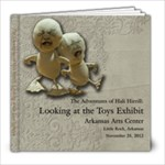 Toys Exhibit 8x8 book - 8x8 Photo Book (20 pages)