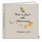 64th Anniversary book - 8x8 Photo Book (20 pages)