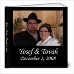 Tova Wedding Album - 8x8 Photo Book (20 pages)