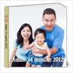 Ambie 14 months Face - 8x8 Photo Book (20 pages)