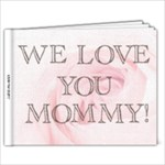 MOMMYS BOOK - 11 x 8.5 Photo Book(20 pages)