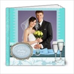 Wedding Blue Book - 6x6 Photo Book (20 pages)