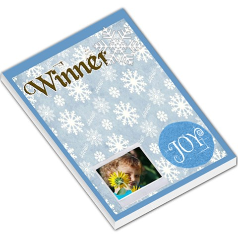 Merry Christmas By Jacob   Large Memo Pads   Xk26ijqooxr7   Www Artscow Com