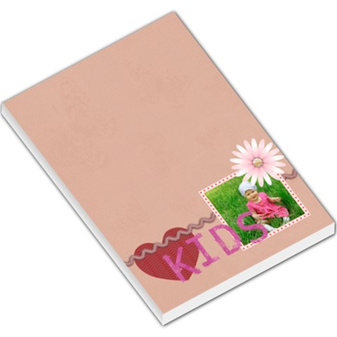 Kids By Jacob   Large Memo Pads   56dqvelj2vdr   Www Artscow Com