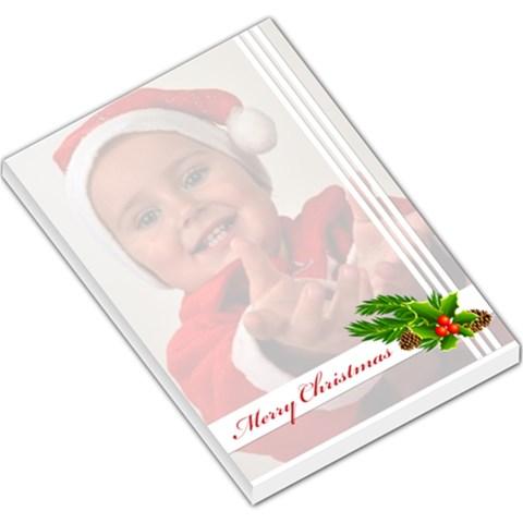 Merry Christmas By Man   Large Memo Pads   O9u39k5z1dpa   Www Artscow Com
