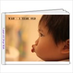 1 year old Shun Wah - 7x5 Photo Book (20 pages)