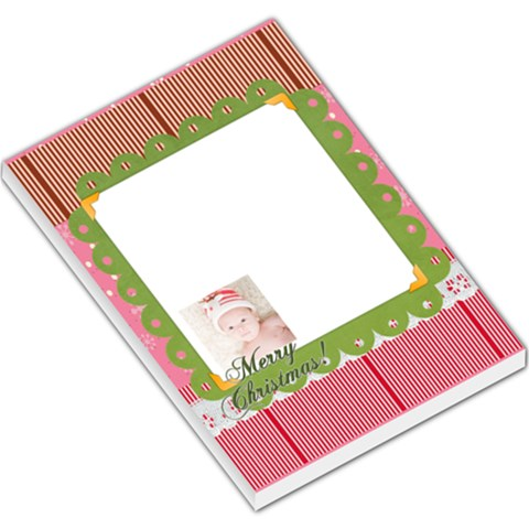 Merry Christmas By Joely   Large Memo Pads   Oqhiue05divl   Www Artscow Com