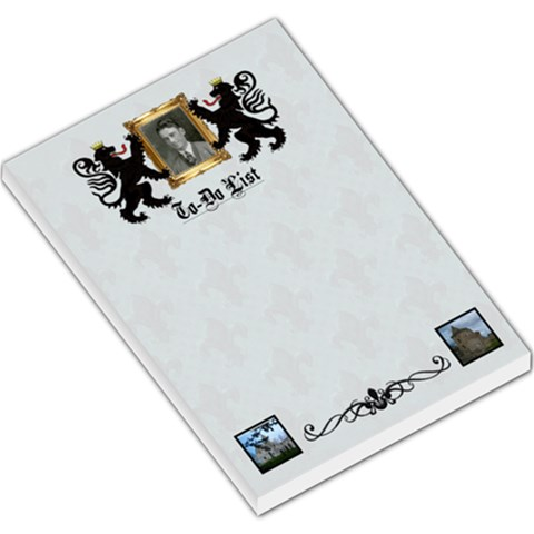 Lion Memo Pad By Rd   Large Memo Pads   Px73syp4lmde   Www Artscow Com