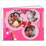 janice 1st birthday (2) - 9x7 Photo Book (20 pages)