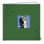 Green Book For wedding - 8x8 Photo Book (20 pages)