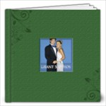 Green Book For wedding - 12x12 Photo Book (20 pages)