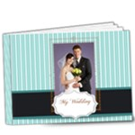 Blue wedding - 9x7 Deluxe Photo Book (20 pages)