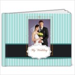 Blue wedding - 9x7 Photo Book (20 pages)