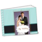 blue wedding - 7x5 Deluxe Photo Book (20 pages)