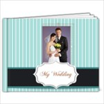blue wedding - 7x5 Photo Book (20 pages)