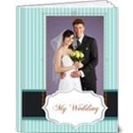 Blue wedding - 9x12 Deluxe Photo Book (20 pages)