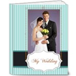 Blue wedding - 8x10 Deluxe Photo Book (20 pages)