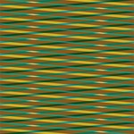 Diagonal stripes pattern