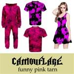 Camouflage: pink tarn